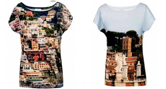 4 Sommer-Modetage im 4.ten, neue Blumen-Shirts und Röcke von Fabrari